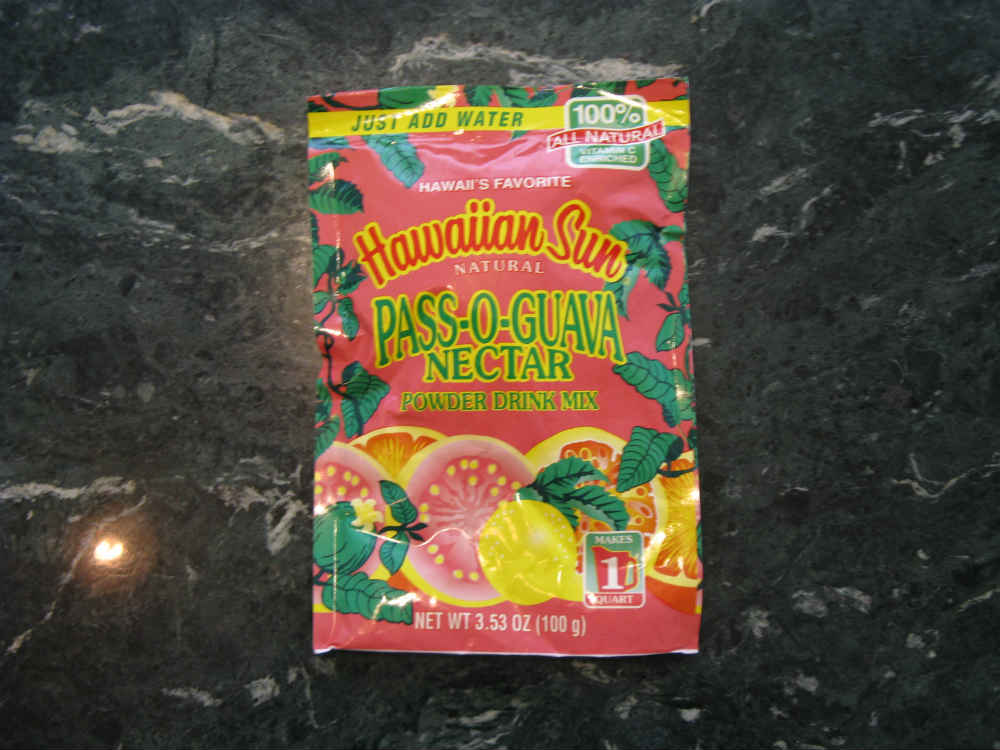 Hawaiian Sun Pass O Guava (POG) Powdered Juice Mix