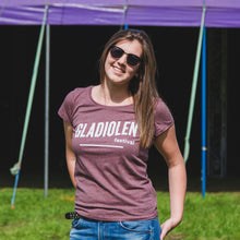 Afbeelding in Gallery-weergave laden, T-shirt Vrouwen Heather Cranberry