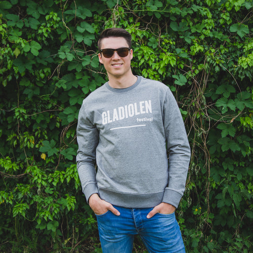 Sweater Mannen Heather Grey