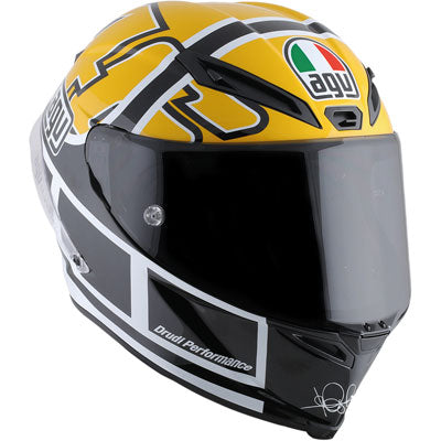 AGV Corsa R Rossi Goodwood Motorcycle Helmet Large Black/Yellow