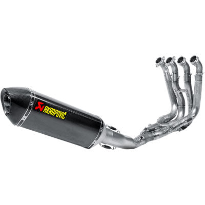 Akrapovic Racing Line Full System Exhaust (NO CA) Single BMW S1000R 2014–2016