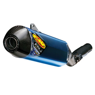 FMF Factory-4.1 RCT Anodized Titanium Silencer with Carbon End Cap and Side Panel – Fits: Honda CRF450R / CRF450RX