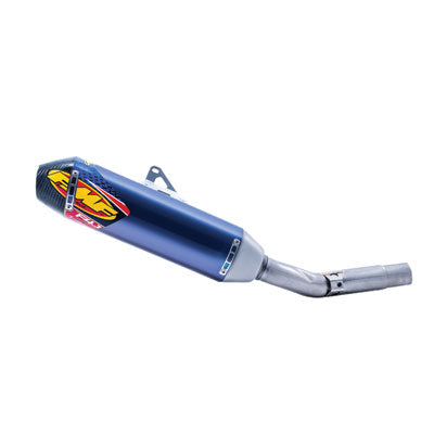 FMF Factory-4.1 RCT Anodized Titanium Silencer with Carbon End Cap – Fits: Husqvarna TC 250