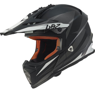 LS2 Fast MX437 Motocross Helmet 2017 Race Grey