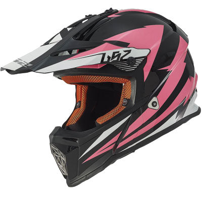 LS2 Youth Fast Mini Helmet Race Pink