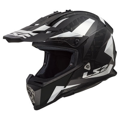LS2 Youth Fast V2 Mini MX437J Helmet Amp Matte Titanium