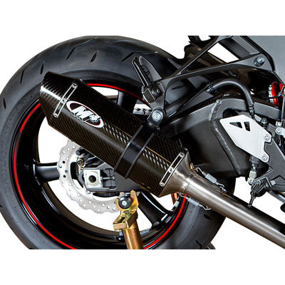 M4 Exhaust MC-36 Slip-On Carbon Fiber – Fits: Kawasaki Ninja ZX-10R