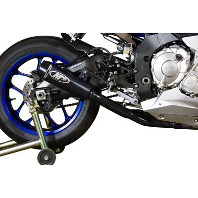 M4 Exhaust GP2 Slip-On w/CAT Eliminator Mid-Pipe Black – Fits: Yamaha YZF-R1