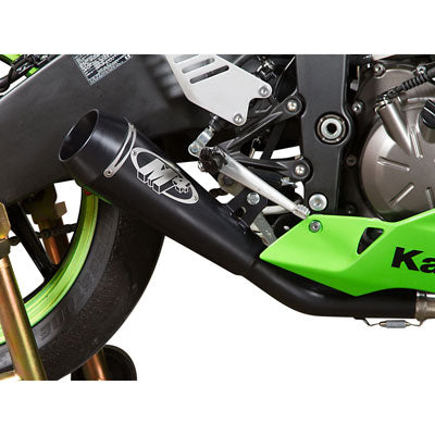 M4 Exhaust GP Full System Stainless/Stainless/Black – Fits: Kawasaki Ninja ZX-6R