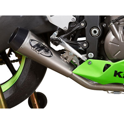 M4 Exhaust GP Full System Stainless/Stainless/Titanium – Fits: Kawasaki Ninja ZX-6R
