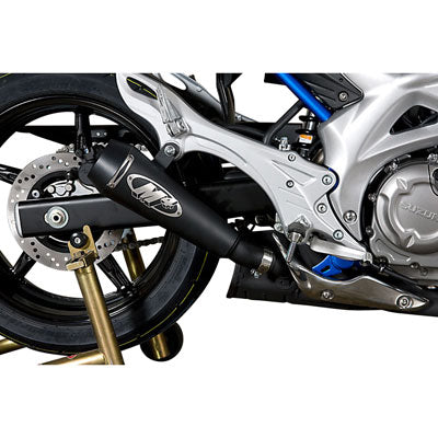M4 Exhaust GP Slip-On Black – Fits: Suzuki Gladius SFV650