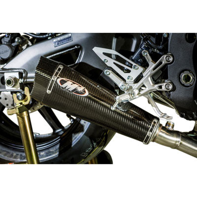M4 Exhaust MC-36 Slip-On Carbon Fiber – Fits: Yamaha FZ-10