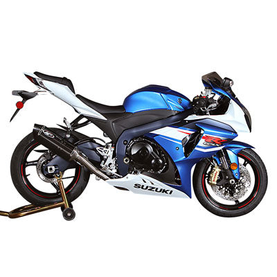 M4 Exhaust Standard Full System Stainless/Stainless/Stainless – Fits: Suzuki GSXR600 F.I. / GSXR750 F.I.
