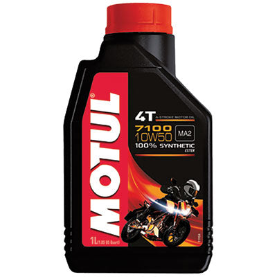 Motul 7100 100% Synthetic 4-Stroke Motor Oil