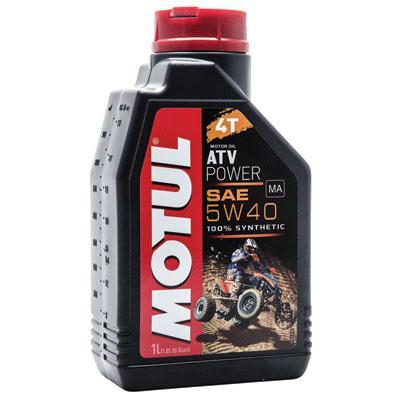 Motul ATV Power 4T Synthetic 4-Stroke Motor Oil 5W-40 1 Liter