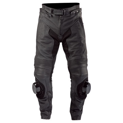 Motonation Apparel Revolver Perforated Leather Pant Black