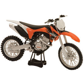 New Ray Die-Cast KTM 350SX Motorcycle Replica 1:12 Scale Orange