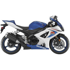 New Ray Die-Cast Suzuki GSX-R1000 Motorcycle Toy Replica 1:12 Scale Blue