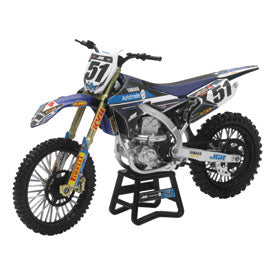 New Ray Die-Cast Yamaha YZ450F Barcia Motorcycle Replica 1:12 Scale