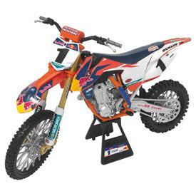 New Ray Die-Cast Red Bull Factory Race Team Ryan Dungey Championship Edition 450SX-F Motorcycle Replica 1:10 Scale