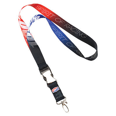 100% Lanyard Red/White/Blue