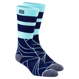 100% Fracture Athletic Socks Navy