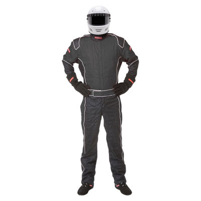Pyrotect Pyrolite Two One Piece 2 Layer SFI-5 Suit Large Black