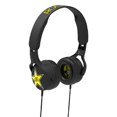 Scosche Rockstar Edition On-Ear Headphones with Swivel Earcups