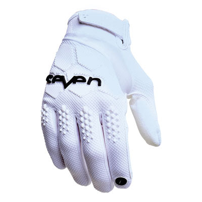 Seven Rival Motocross Gloves White