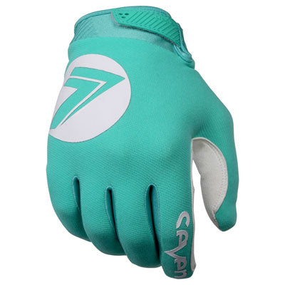 Seven Annex 7 DOT Motocross Gloves Aqua