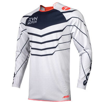 Seven Youth Annex EXO Jersey Coral/Navy