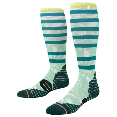 Stance Women's Fusion Pro Series Moto Socks Size 8-10 Palm Beach Mint