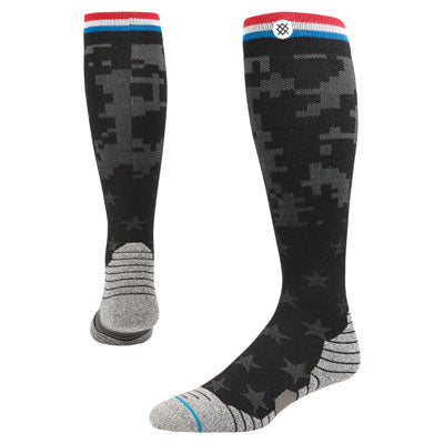 Stance Fusion Pinnacle Series Moto Socks Command Black