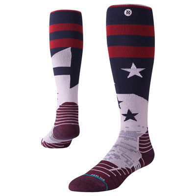 Stance Tall Moto Socks Crowe Navy