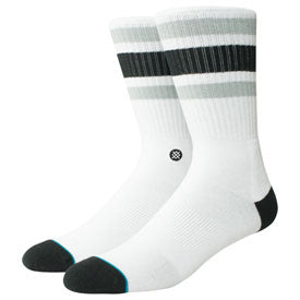 Stance Uncommon Solid Socks Boyd 4 White