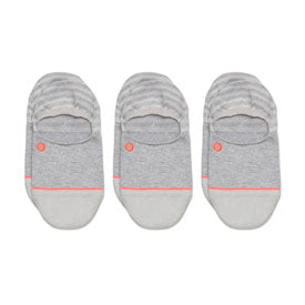 Stance Women's Uncommon Invisible Socks - 3 Pack Grey