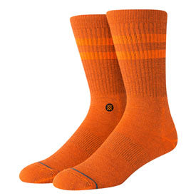 Stance Classic Crew Socks Joven Orange