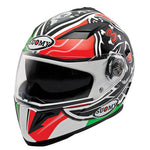 Suomy Halo Motorcycle Helmet Biaggi Replica