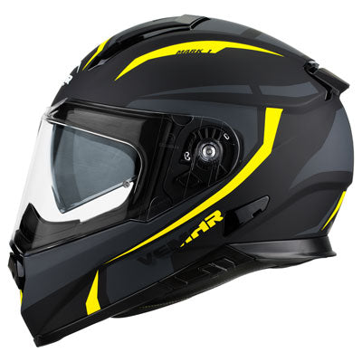 Vemar Zephir Mark Motorcycle Helmet Black/Yellow