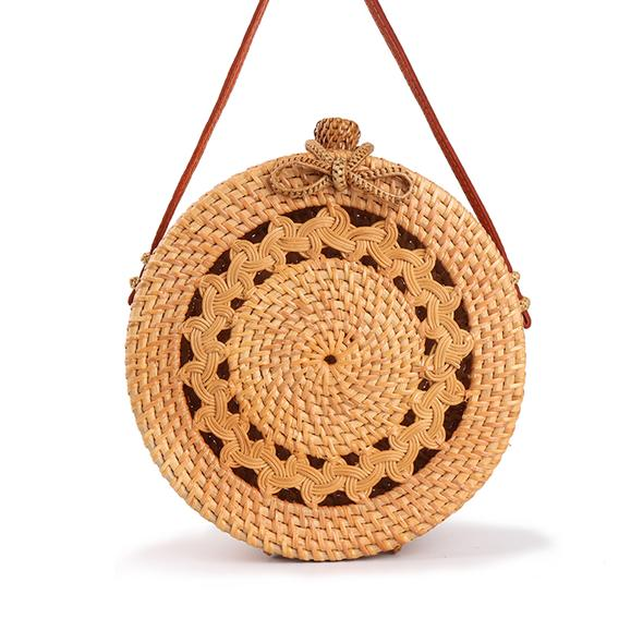 Straw Knotted Bali Bag