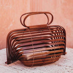 Bamboo Basket Chestnut