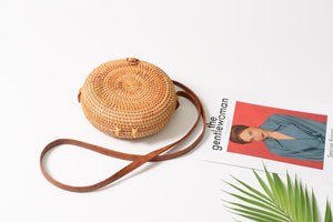 Straw Circle Bali Bag
