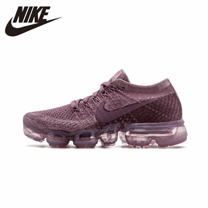 ee7075d5fa1 NIKE Air VaporMax Flyknit Women s Breathable Running Shoes Sport  Comfortable Sneakers  849557-500