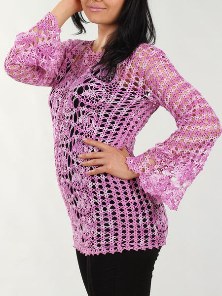 Cotton Bruges Lace Tunic