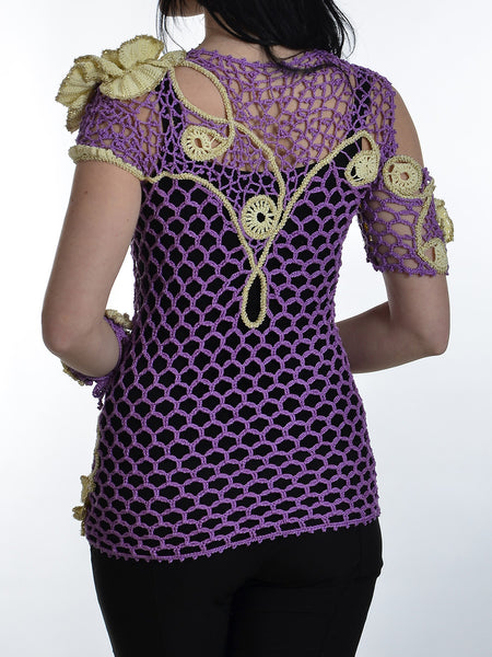 Tunic with 3D Flowers