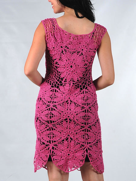 Dark Pink Summer Dress Buy