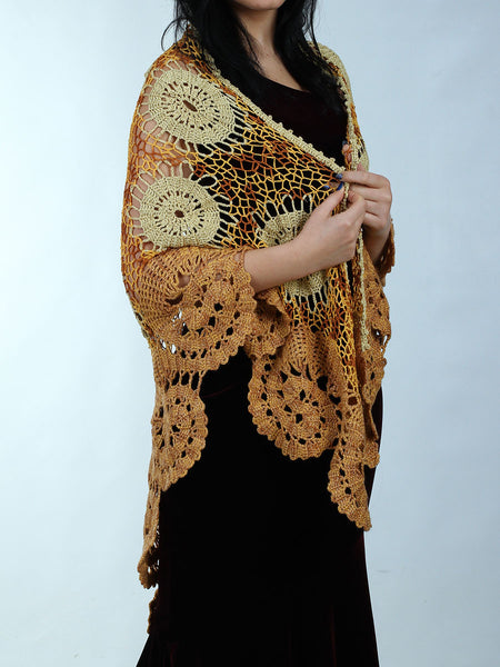 Buy Cotton Lacy Wrap