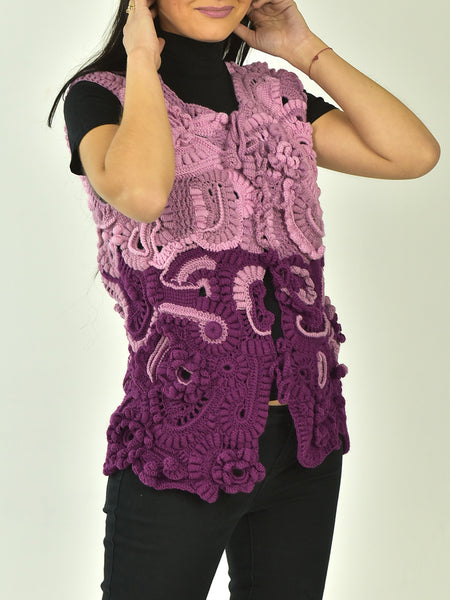 Buy Freeform Wool Vest