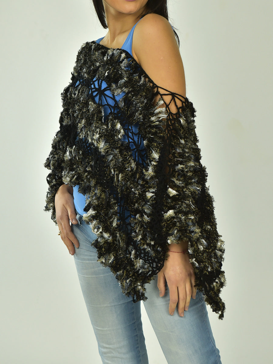 Stylish Lace Poncho