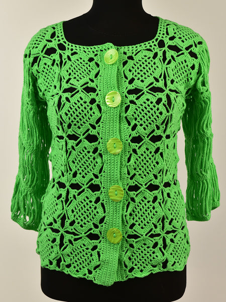summer green blouse